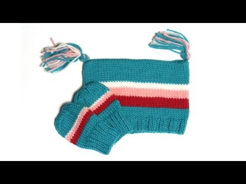 Thumb-less Mitts - Parts 1 through 3