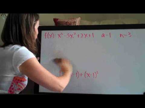 Taylor Polynomial Example 1 PART 2/2