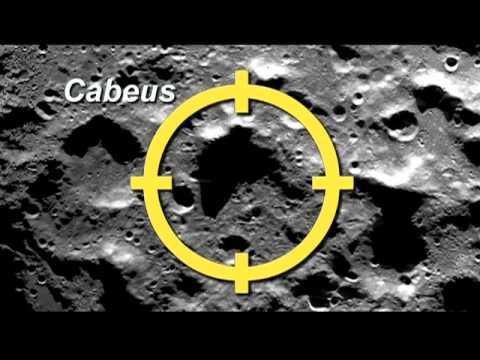 NASA SELECTS TARGET CRATER FOR LUNAR IMPACT OF LCROSS SPACECRAFT