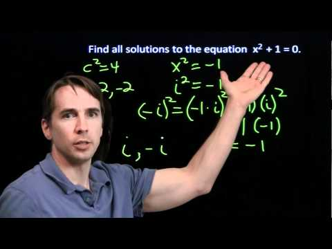 Art of Problem Solving: Imaginary Numbers Introduction
