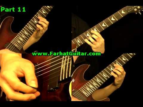 Master of Puppets Metallica Guitar Cover 11 www.FarhatGuitar.com
