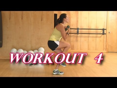 5 Minute Fat Burn Workout 4, Home Fitness Interval Training For Cardio & Strength Exercise