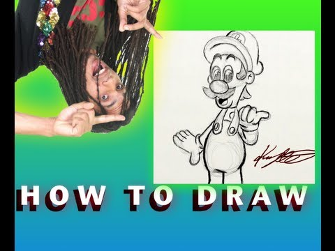 How to Draw Luigi