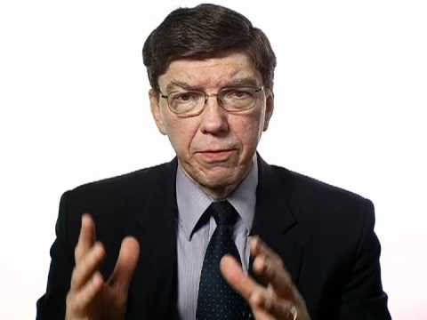 Clayton Christensen on Winners and Losers in the Next Economy