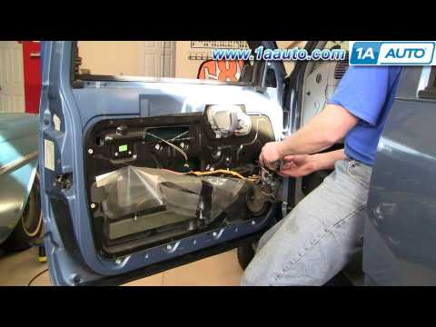 How To Install Replace Window Regulator Chevy GMC Pickup Truck SUV 88-98 1AAuto.com
