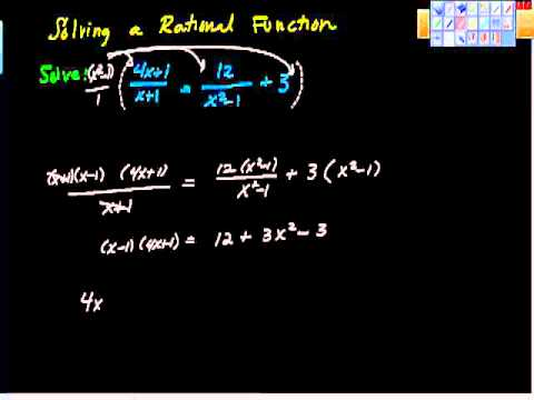 Solving Rational Equations Pt II