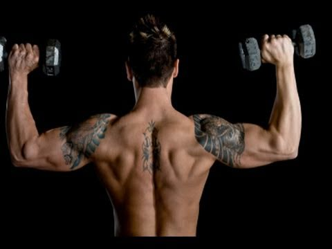 Advanced Home Shoulder Workout, Get Big Delts Fast!