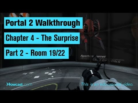 Portal 2 Walkthrough / Chapter 4 - Part 2: Room 19/22