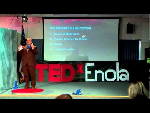 TEDxEnola - Dr. Jason Conway - Classroom Environment: It's not about YOU, It's about THEM