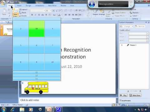 Free Speech Recognition Tutorial 7 - Dictating To PowerPoint