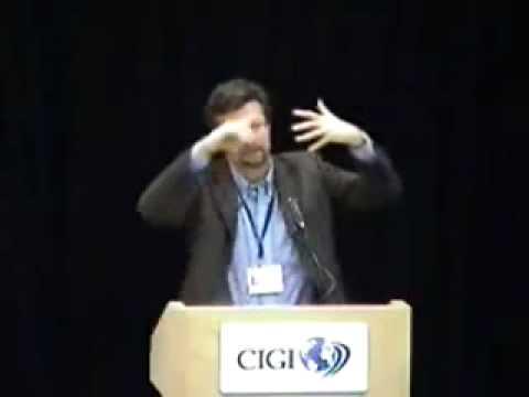 CIGI `07 - Conference on International Governance Innovation - Day One Pt 3