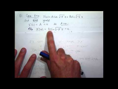 Heat equation + Fourier series