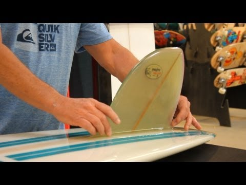 How to Choose a Surfboard: Glassed On Fins