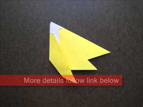 How to Fold Easy Origami Banana - OrigamiInstruction.com