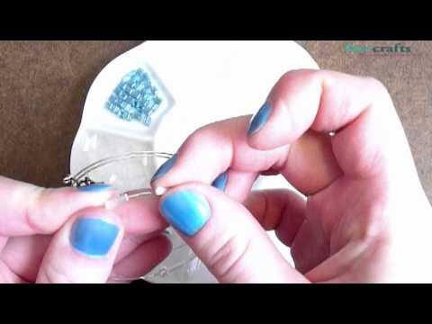 How to Make a Winter Bracelet