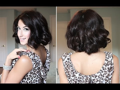 How To:  Glamorous Faux, Curly Bob