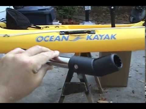 Scotty Kayak Gimbal Rod Holder: Episode 18