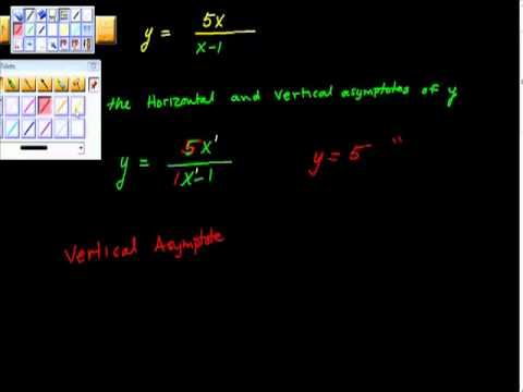 Finding the Equation of Asmptotes Vertical Horizontal