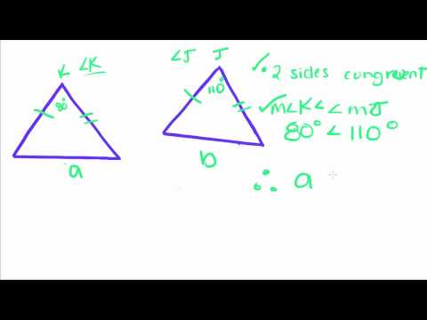 Introduction to Geometry - 8 - Two Triangle Inequality