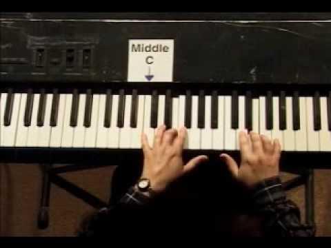 Piano Lesson - Kohler's Very Easiest Piano Studies #7