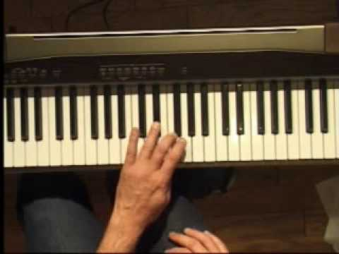 Piano Lesson - How to Play the Bb major scale (left hand)