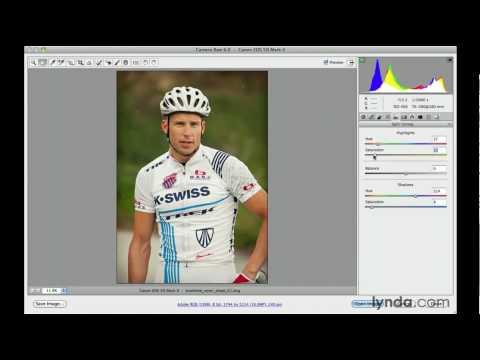 Creating a snapshot effect in Camera Raw | lynda.com tutorial