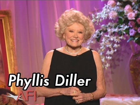Phyllis Diller opens the 29th AFI Life Achievement Award: A Tribute to Barbra Streisand
