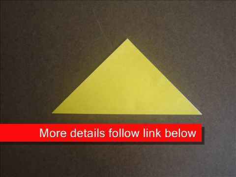How to fold Origami Helmet Base - OrigamiInstruction.com