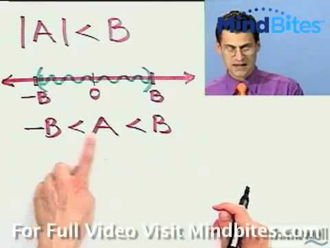 Beg Algebra: Solving Absolute Value Inequalities