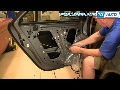 How To Install Replace Rear Power Window Regulator Cadillac CTS 03-07 1AAuto.com
