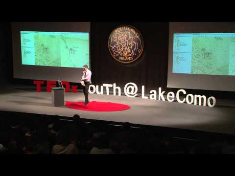 Virtual Como: web visualization of ancient maps: Marco Minghini at TEDxYouth@LakeComo