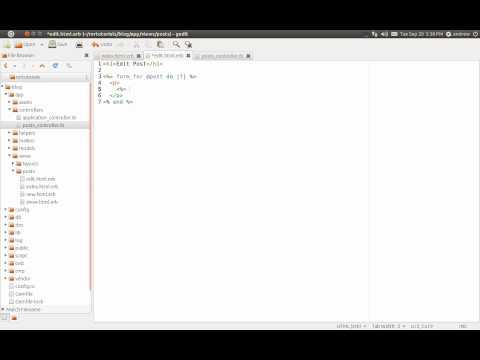 Ruby on Rails Tutorial Part 7 - CRUD - Update - Update Attributes Method