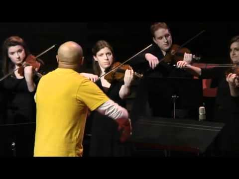 TEDxObserver - Goldie conducts the London Trafalgar Sinfonia