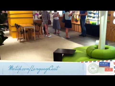 New LanguageCast Meetup Place (June 2011)