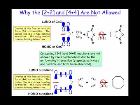 Allowed and Forbidden Cycloadditions
