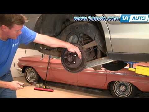 How To Remove a Rusted Stuck Seized Rear Brake Disc