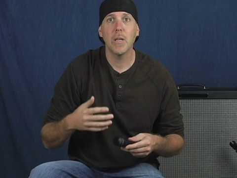 Learn how to mic your guitar amp or cabinet and all about microphones Audix Shure dynamic cardioid