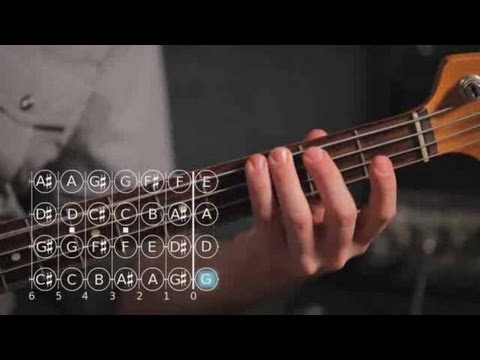 Bass Guitar Lesson: How to Play Note G