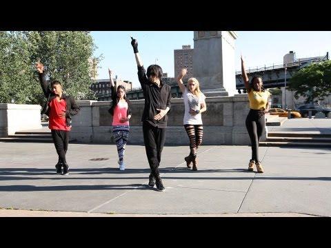 How to Dance Like Michael Jackson: Smooth Criminal, Part 1   Hip Hop Dance Crew