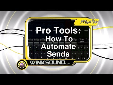 Pro Tools: How To Automate Sends