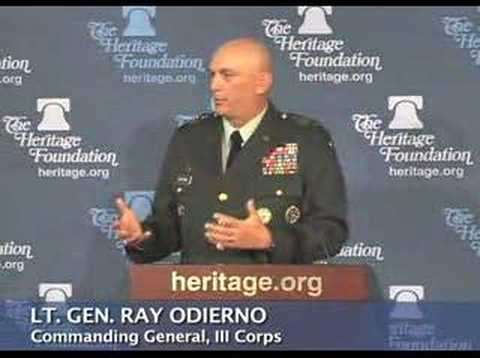 Gen. Odierno on Iraqis rejecting al Qaeda