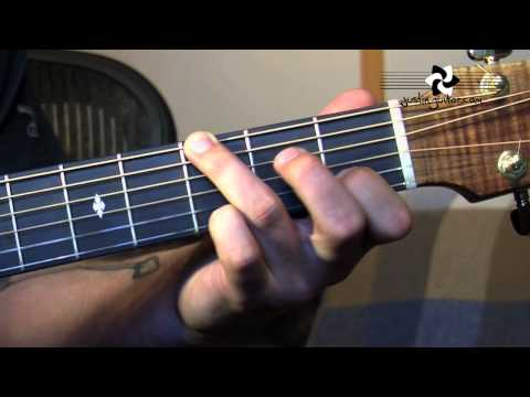 Fingerstyle Major Chord Scale Relations (Folk Guitar Lesson FO-104) How to play