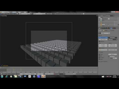Blender Tutorial - Advanced Array Animation Part 4/10