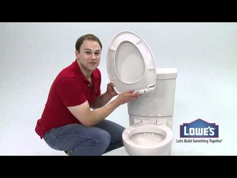 Clean Toilet by American Standard Exclusively at Lowe's