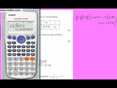 (Q6) Core 2 January 2011 Edexcel AS maths Past Paper