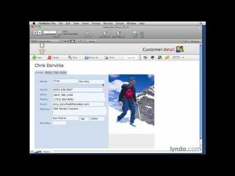 FileMaker Pro: Managing the Fields window | lynda.com