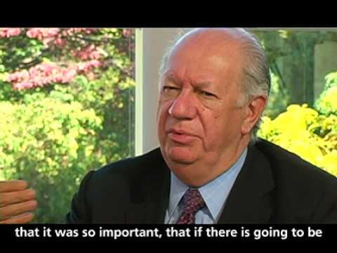 Ricardo Lagos on U.S. War on Terror