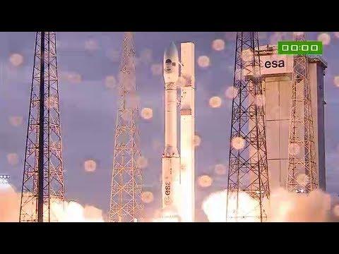 Succès pour le vol inaugural du nouveau lanceur Vega de l'ESA