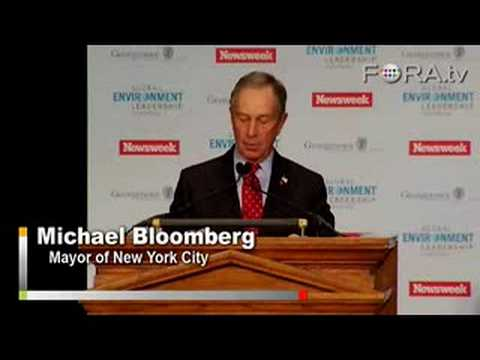 Michael Bloomberg - Taking the Lead on Global Warming