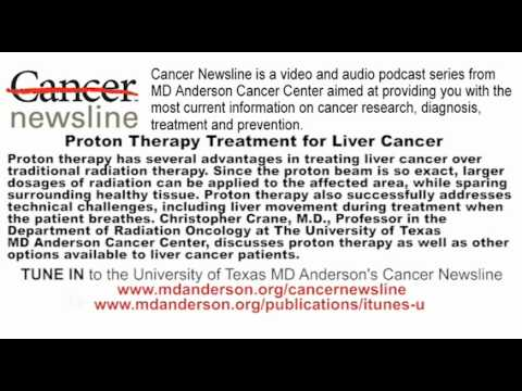 Proton Therapy Treatment for Liver Cancer